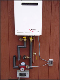 Gas Tankless Water Heaters Sacramento